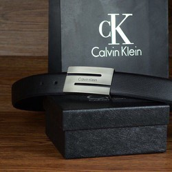 Hộp nịt thắt lưng CK một mặt chữ Z dây vân