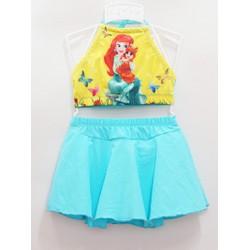 Set áo yếm và váy bơi nàng tiên cá