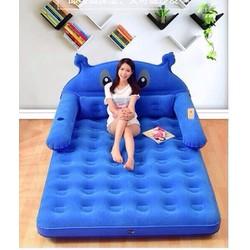 Giường hơi hoạt hình cao cấp tặng kèm bơm