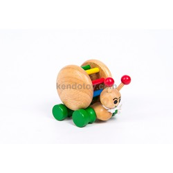 Đồ chơi gỗ cho trẻ em | Ốc sên bằng gỗ