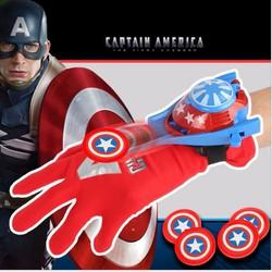 Găng tay bắn xu Đội Trưởng Mỹ