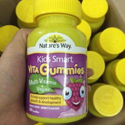 Kẹo bổ sung vitamin và rau quả tự nhiên