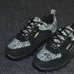 Giày đen nam thể thao chạy bộ