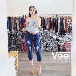 Mimihouse - Quần jean rách lửng hàng Việt Nam!