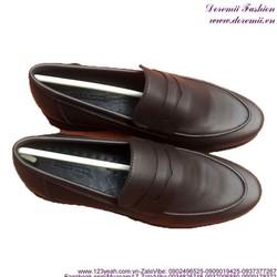 Giày da nam công sở khóa da đẳng cấp sang trọng GDNHK159