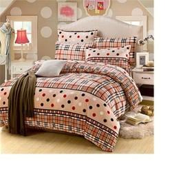 Bộ drap cotton bộ sưu tập hoa sắc màu