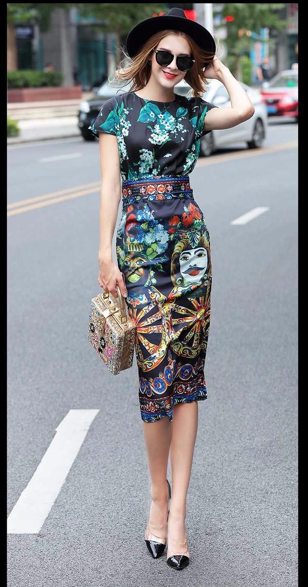 Đầm phong cách Châu âu DV434 7
