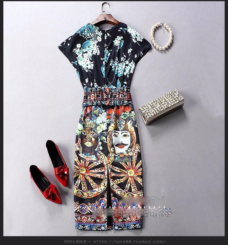 Đầm phong cách Châu âu DV434 9