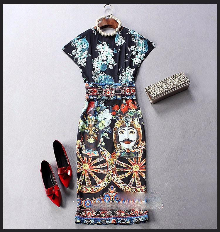 Đầm phong cách Châu âu DV434 8