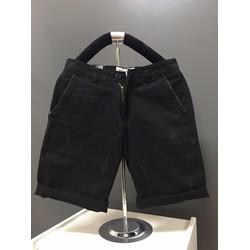 KX05 -Quần short kaki nam form body xước màu xám đen hàng cao cấp