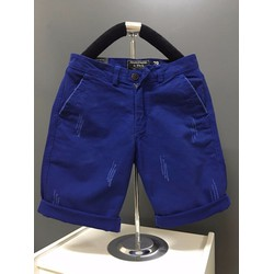 KX07 -Quần short kaki nam form body xước màu xanh bích hàng cao cấp