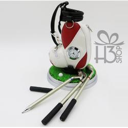 Bộ 3 bút hình gậy đánh golf để bàn
