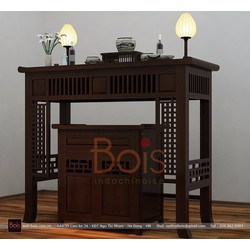 Tủ thờ gỗ tự nhiên 1BT016