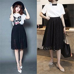 Chân váy Ren Vintage