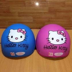 Nón mũ bảo hiểm họat hình hello Kitty