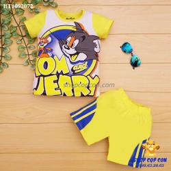 Bộ Tom and Jerry màu vàng