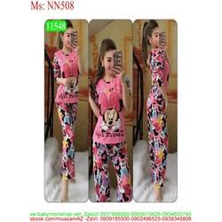Đồ bộ mặc nhà dài tay chuột mickey xì teen NN508