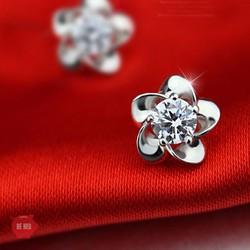 Bông tai hình hoa mai xinh xắn BH557