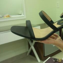 Giày cao gót đế vuông nữ đẹp, chất lượng tốt