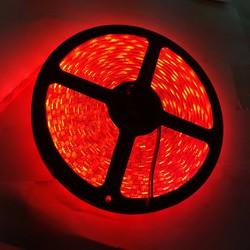 đèn led dây 5050 bản to đỏ - cuộn 5 mét