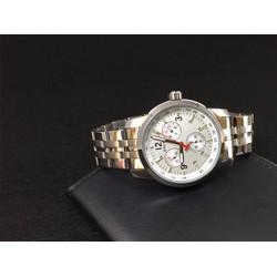 Đồng hồ nam giá rẻ Halei Trắng full