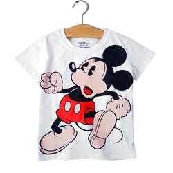 Áo thun Mickey Mouse- trắng