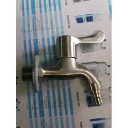 Vòi nước lạnh inox 304 mờ cao cấp