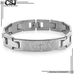 Lắc tay inox nam giá rẻ nhất HCM mẫu LN007