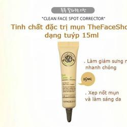 Tuýp trị mụn và làm mờ vết thâm - Clean Face Pot Corrector