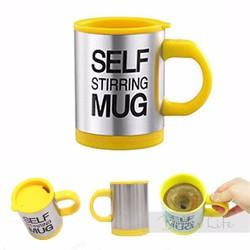 Ly cà phê pha tự động SELF MUG vàng mới