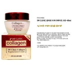 Kem dưỡng chống lão hóa và giữ ẩm cho da - 3W Clinic Collagen