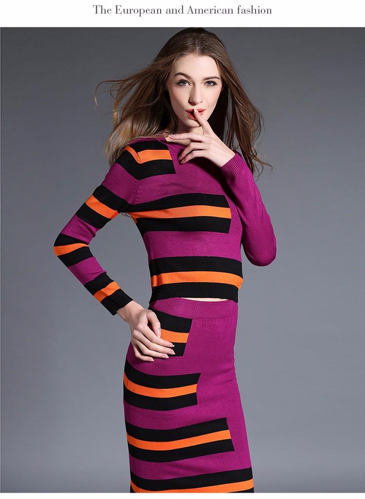 Đầm ôm len dệt kim DV435 5