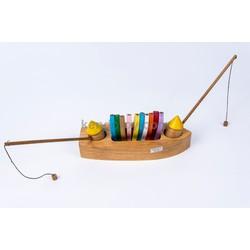 Đồ chơi gỗ cho trẻ em | Thuyền câu cá