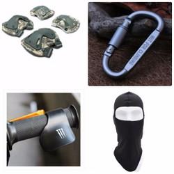 Giáp gối chân tay tactical và Quà Tặng
