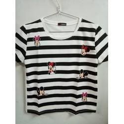 Áo vạt ngắn Minnie