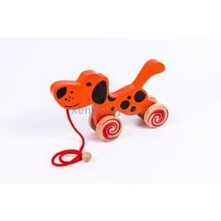 Đồ chơi gỗ cho trẻ em | Xe kéo chó mẹ