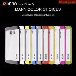 Ốp lưng Galaxy Note 5 Slicoo Neo Crystal + kính cường lực