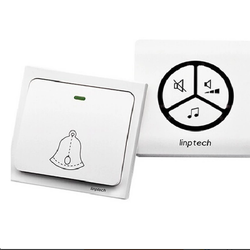 Chuông không dây không dùng pin LINPTECH LP100SW Trắng