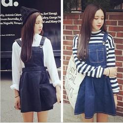 Váy yếm jean VY05