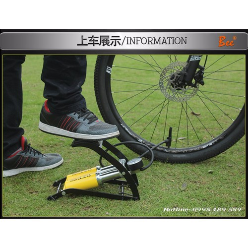 Bơm đạp chân   Bơm ô tô xe máy xe đạp 2 xi lanh - 4194419 , 5169119 , 15_5169119 , 440000 , Bom-dap-chan-Bom-o-to-xe-may-xe-dap-2-xi-lanh-15_5169119 , sendo.vn , Bơm đạp chân   Bơm ô tô xe máy xe đạp 2 xi lanh