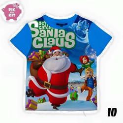 Áo hình ông già Noel cực đẹp cho bé gái 10-20kg