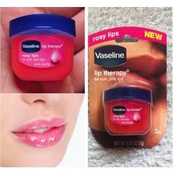 Son dưỡng môi vazolin mầu hồng nhẹ tự nhiên