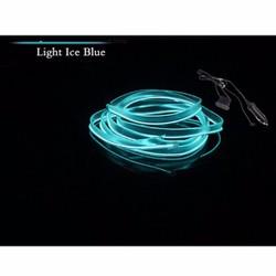 Đèn led xe hơi ô tô trang trí nội thất có jack mồi thuốc dài 5m