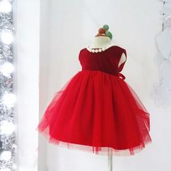 Váy nhung kim tuyến