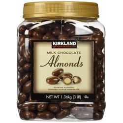 Chocolate sữa hạnh nhân Kirkland 1360gr Mỹ
