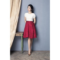 Đầm tùng chân váy xòe