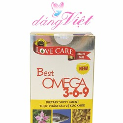 Viên uống tăng cường sức khỏe Omega 369