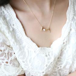 Dây chuyền chữ LOVE màu vàng cho nữ xinh DC01A  - CÓ QUÀ TẶNG