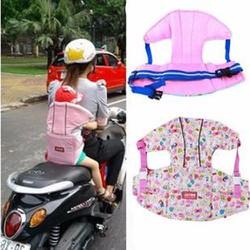 Đai địu bé có đỡ cổ an toàn khi đi xe máy