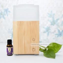 Máy khuếch tán siêu âm gỗ Nhật TẶNG 1 chai tinh dầu Oải Hương 15ml